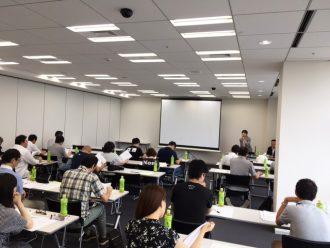2017年7月30日勉強会の様子